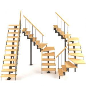 Макет модульной лестницы