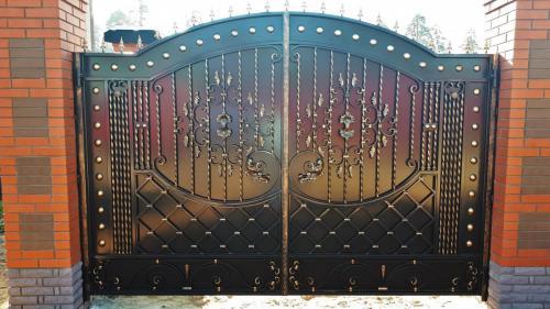Кованые ворота и калитки Art-master.kovka (92)
