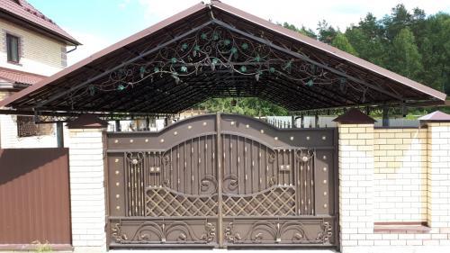 Кованые ворота распашные Art-Master.Kovka (Гусь-Хрустальный район)