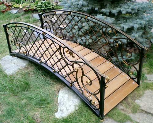 Садовый мостикart-master.kovka