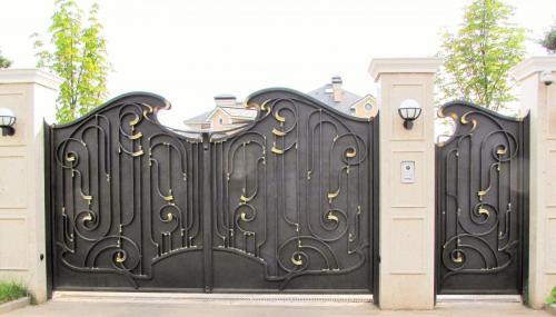 Кованые ворота Владимирская область (2)