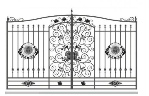 Ворота Art-Master.Kovka 1-01