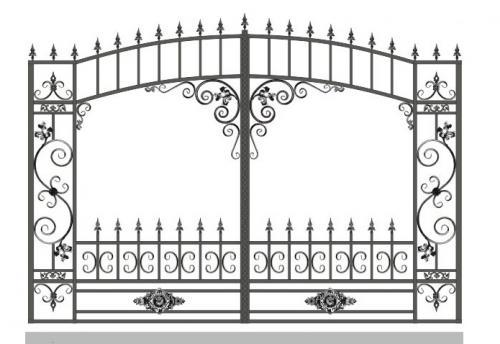 Ворота Art-Master.Kovka 1-010