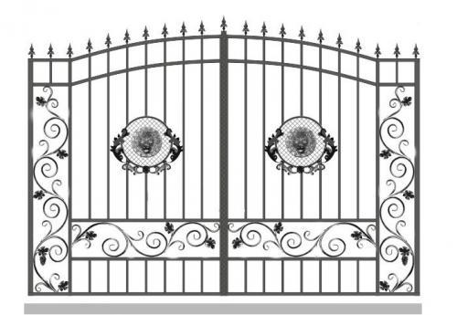 Ворота Art-Master.Kovka 1-015