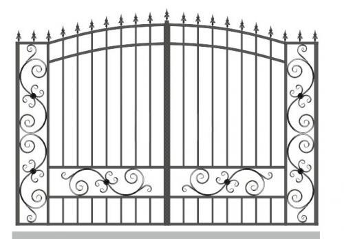 Ворота Art-Master.Kovka 1-05