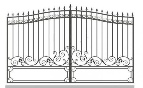 Ворота Art-Master.Kovka 1-06
