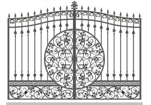 Ворота Art-Master.Kovka 1-09