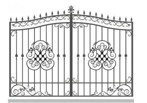 Ворота Art-Master.Kovka 1-013