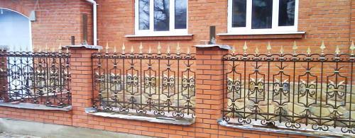 Кованый забор (1) (1)