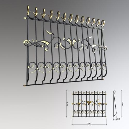 Art-Master Kovka кованые решетки (4)