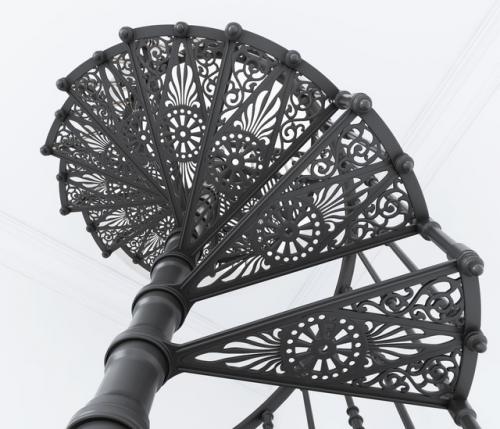 Art-Master Kovka лестницы на металлокаркасе (11)