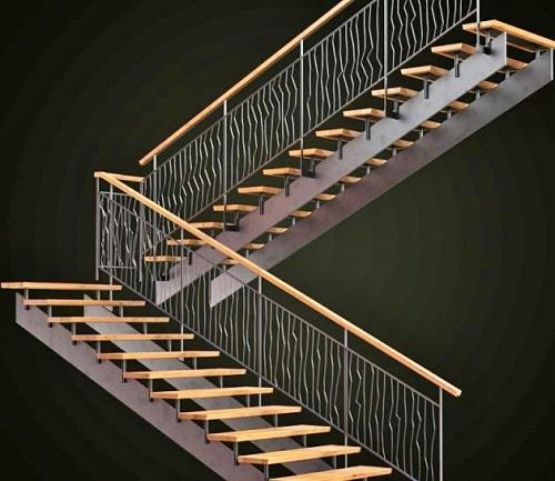 Art-Master Kovka лестницы на металлокаркасе (14)