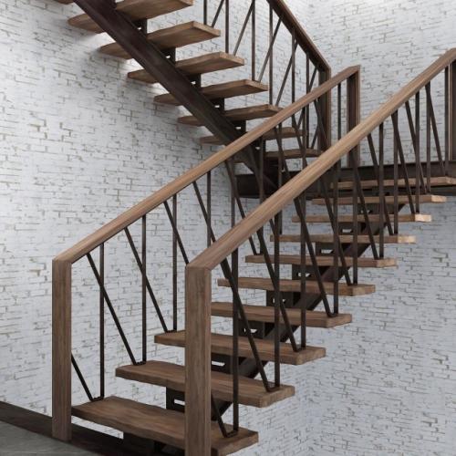 Art-Master Kovka лестницы на металлокаркасе (4)