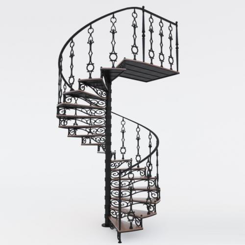 Art-Master Kovka лестницы на металлокаркасе (8)