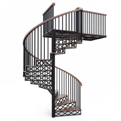 Art-Master Kovka лестницы на металлокаркасе (9)