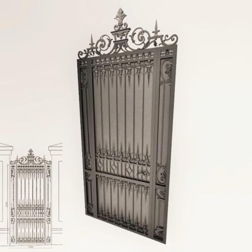 am-kovka.ru кованые ворота  (10)