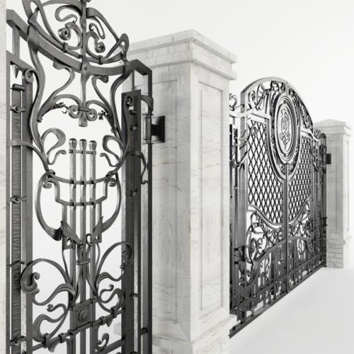 am-kovka.ru Эскиз кованых ворот  (2)
