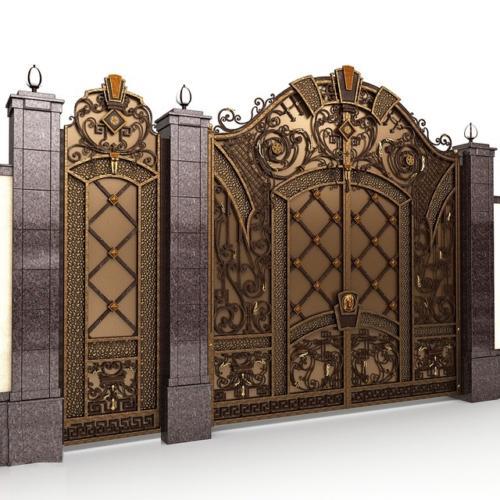 am-kovka.ru кованые ворота  (3)