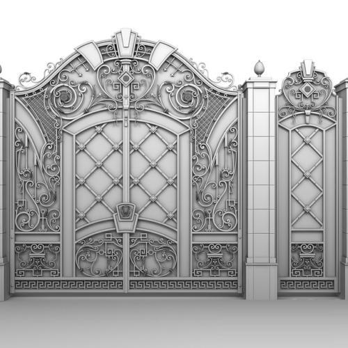 am-kovka.ru кованые ворота  (4)