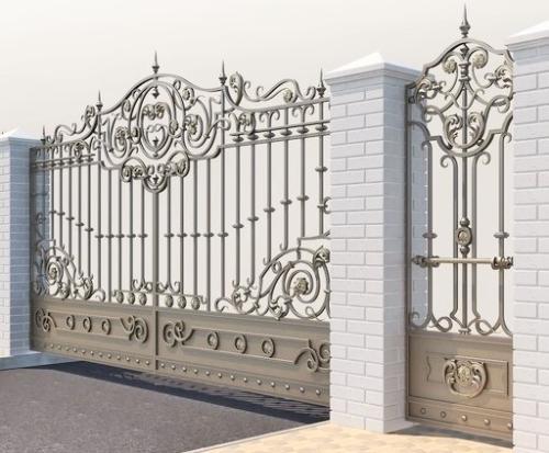 am-kovka.ru кованые ворота  (5)