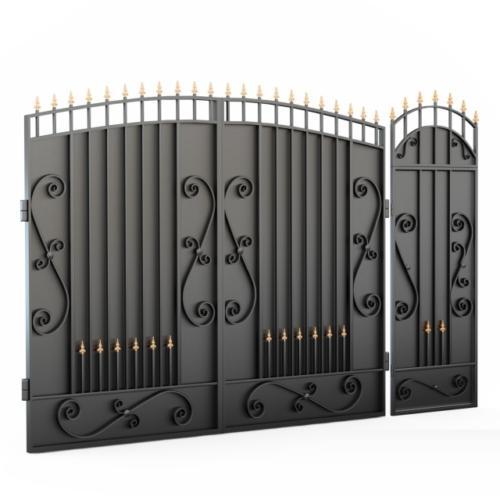 am-kovka.ru кованые ворота  (8)