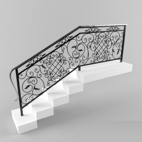 art-master.kovka кованое лестничное ограждение (2)